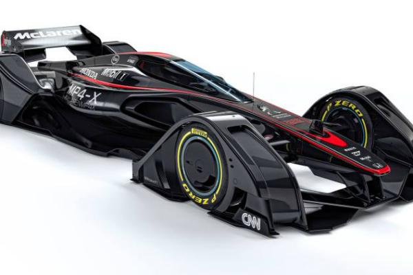 McLaren's Telepathic Formula One Racer