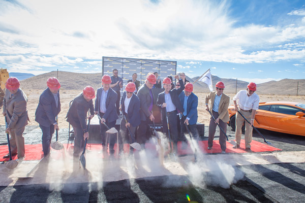 "Ready, Set, ""Break"" Ground. Construction Begins at 100-acre SPEEDVEGAS"