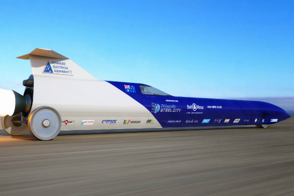 Aussie Invader 5R Sets Eyes on Land Speed Record
