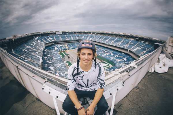 Abandoned Silverdome Becomes BMX Dream Playground