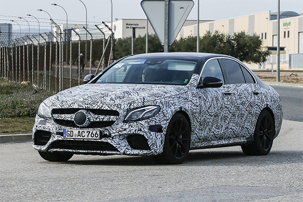 Spy Shots: 2018 Mercedes-AMG E63