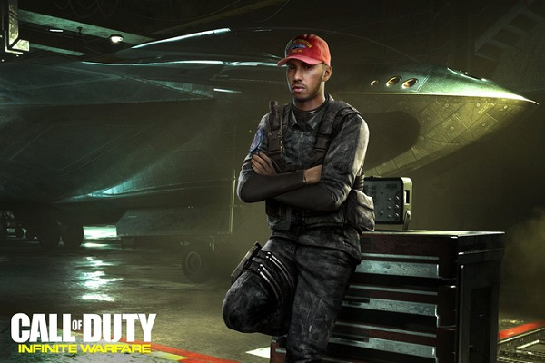 Lewis Hamilton to make Appearance in Call of Duty: Infinite Warfare