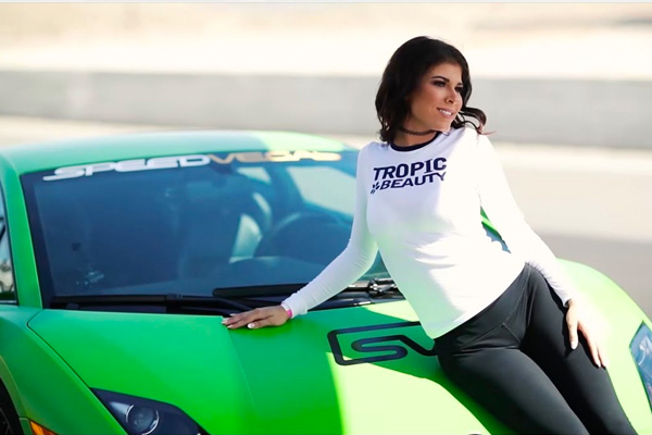 Tropic Beauty Supermodels Visit SPEEDVEGAS