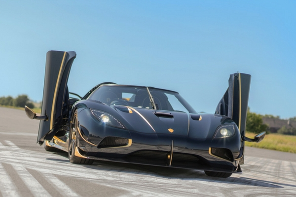 "Koenigsegg Agera RS ""Naraya"" Unveiled in the UK"