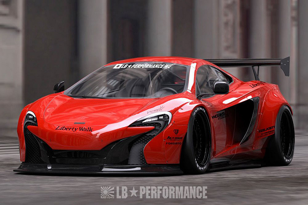 Liberty Walk Introduces Widebody Kit for McLaren 650S