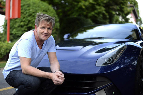 Gordon Ramsay Is In Love With Ferrari