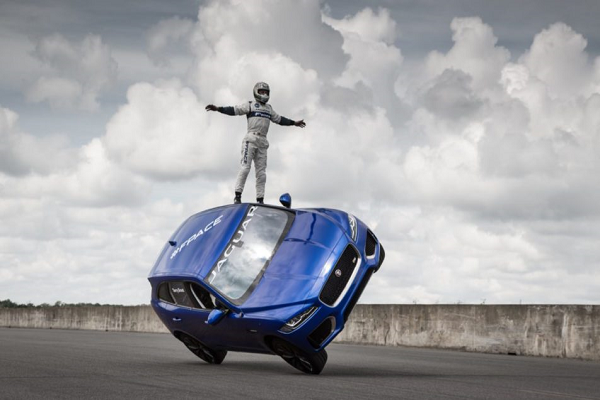 Jaguar F-PACE Stunt Performed at Goodwood Festival of Speed