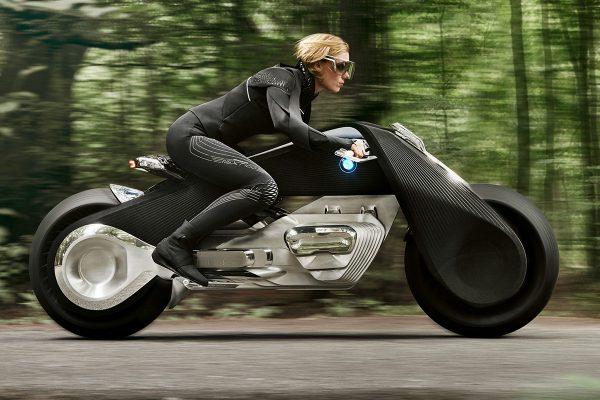 BMW Unveils Motorrad Vision Next 100 Concept