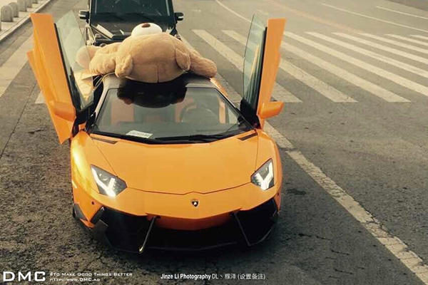Lamborghini Aventador Teddy Bear Performance Package
