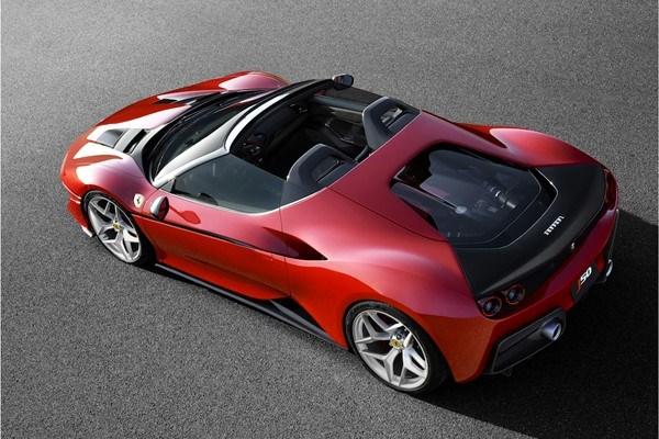 Ferrari Unveils J50 Roadster