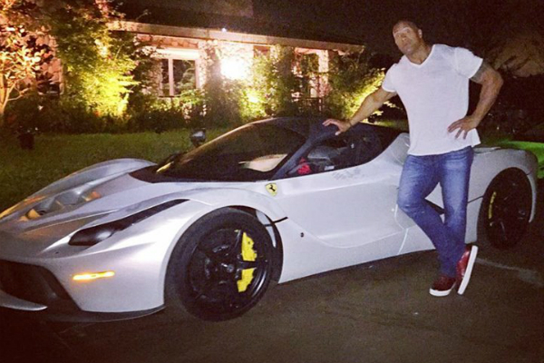 The Rock vs. LaFerrari