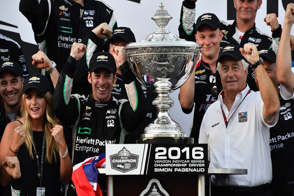 Simon Pagenaud Wins First Verizon IndyCar Series Championship