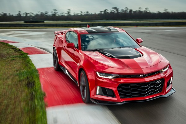 Faster than the Ferrari F12berlinetta – 2017 Chevy Camaro ZL1 sets blistering lap at Nurburgring