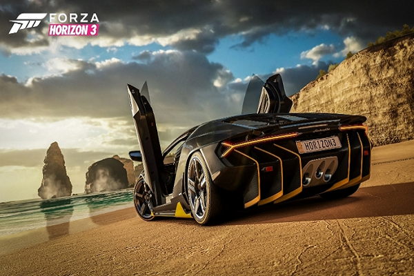 Lamborghini Centenario Makes North American Debut at E3 Forza Horizon Booth