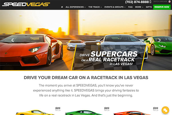 SPEEDVEGAS Launches Website, Begins Taking Reservations