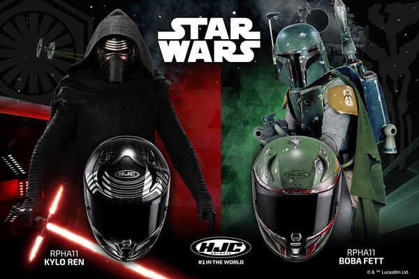 HJC Releases Star Wars Inspired Motorcycle Helmets