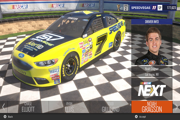 Noah Gragson Makes Video Game Debut in NASCAR Heat Evolution