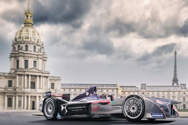 Formula E Takes to Paris Streets for Very First Time