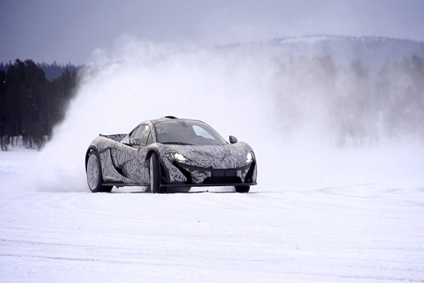 McLaren to Host Inaugural Ice Driving Experience