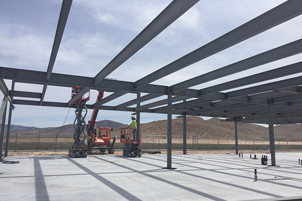 SPEEDVEGAS Construction Update: Welcome Center Taking Shape