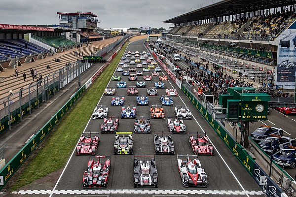 Porsche Takes Front Row for Le Mans 24 Hour