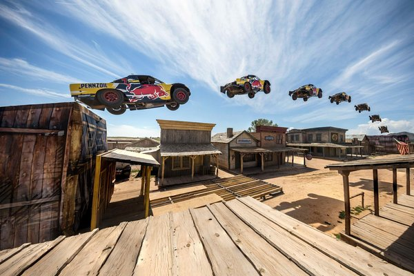 Bryce Menzies Sets World Record by launching truck 379 Feet in the Air