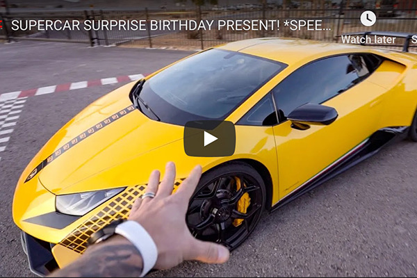 Daily Driven Exotics Gets a SPEEDVEGAS Birthday Suprise