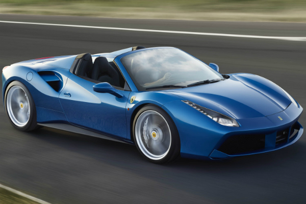 Ferrari Racing in the New 2016 Ferrari 488 Spider