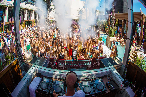 Vegas Pool Parties for 2016