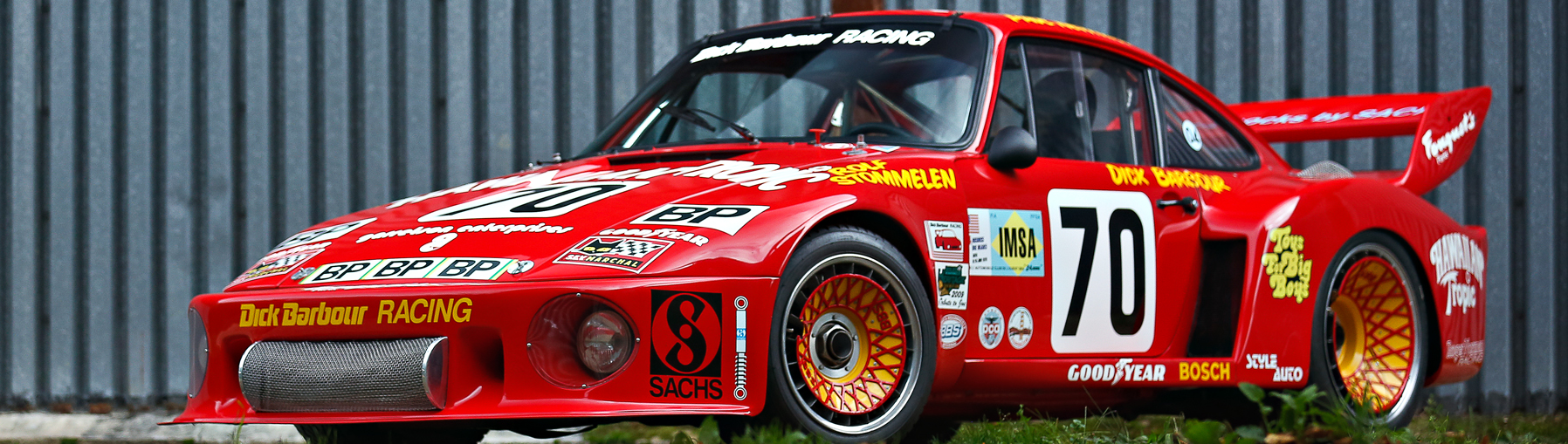 With 70,000 racing miles on the odometer, Newman's 1979 Porsche 935 is one of the most successful race cars of its era.