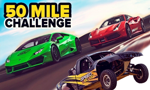50 Mile Challenge popular driving experience las vegas