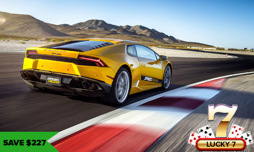 Lucky Seven popular driving experience las vegas