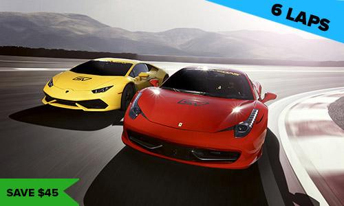 Italian Faceoff 6 Lap popular driving experience las vegas