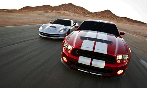 American Muscle Showdown popular driving experience las vegas