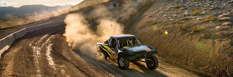 Baja Race Truck Ride Along