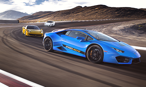 Battle of Legends popular driving experience las vegas
