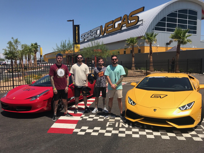 2 Chainz Drives a Lamborghini Huracan at SPEEDVEGAS
