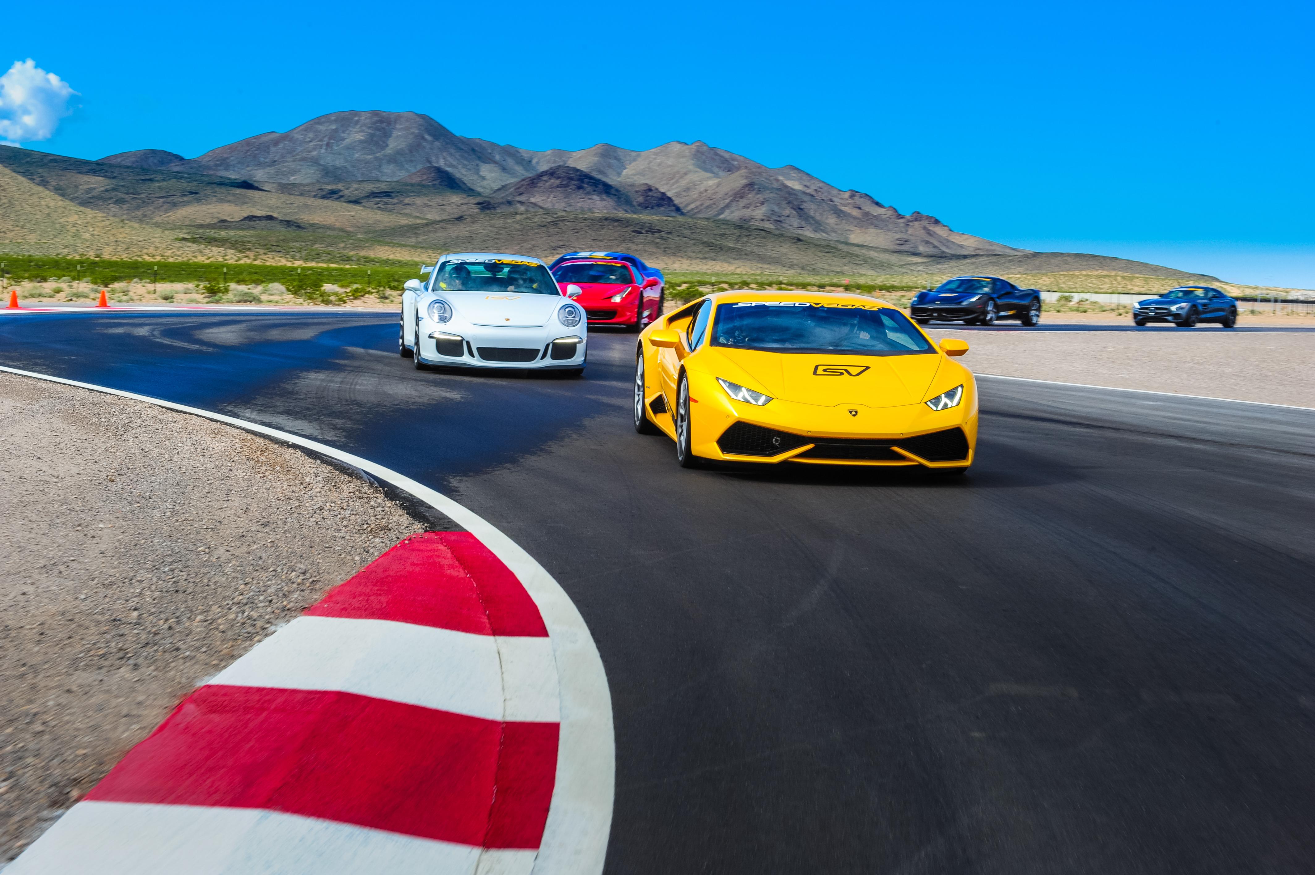 Lamborghini Huracan on Track