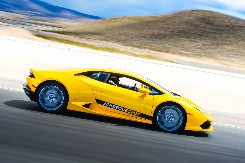 Drive A Lamborghini On Track In Vegas Speedvegas