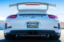 Porsche white racetrack vegas
